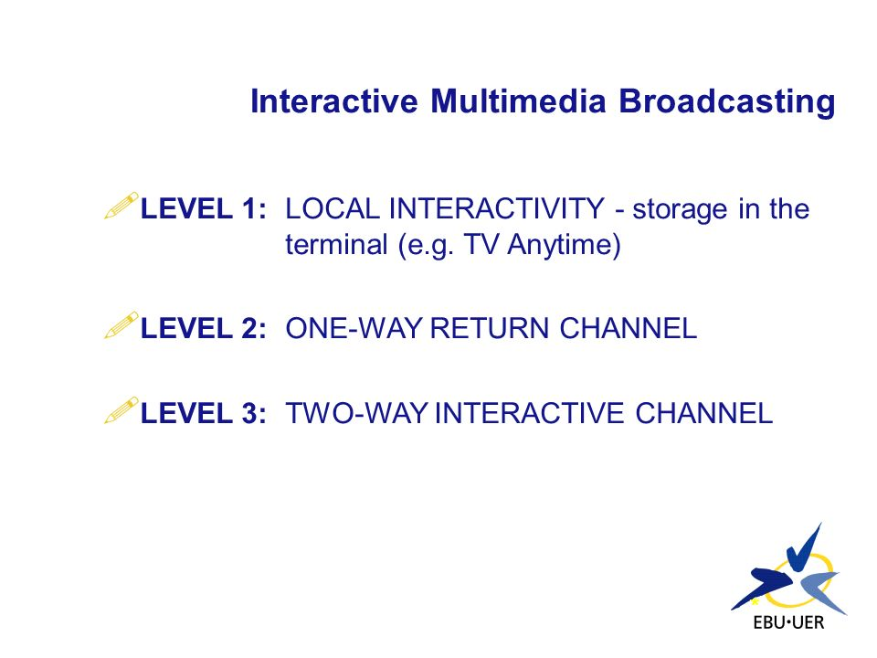 Interactive Multimedia Broadcasting