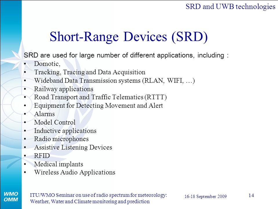 Short-Range Devices (SRD)