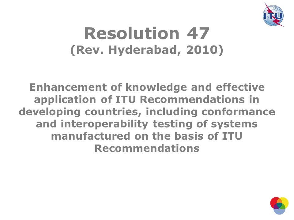 Resolution 47 (Rev.