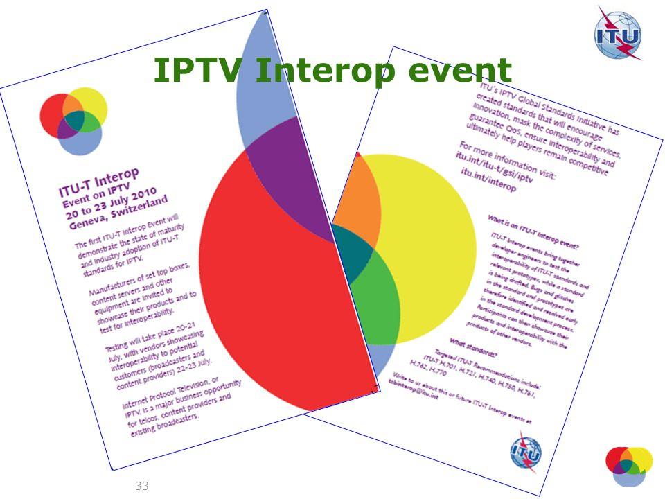 IPTV Interop event