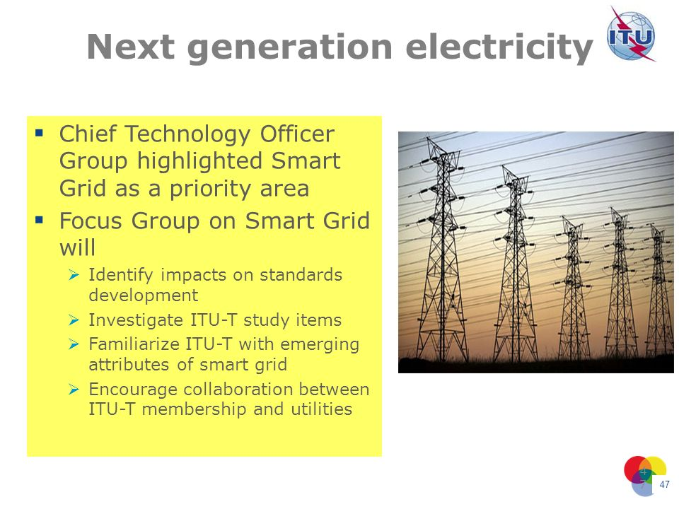 Next generation electricity