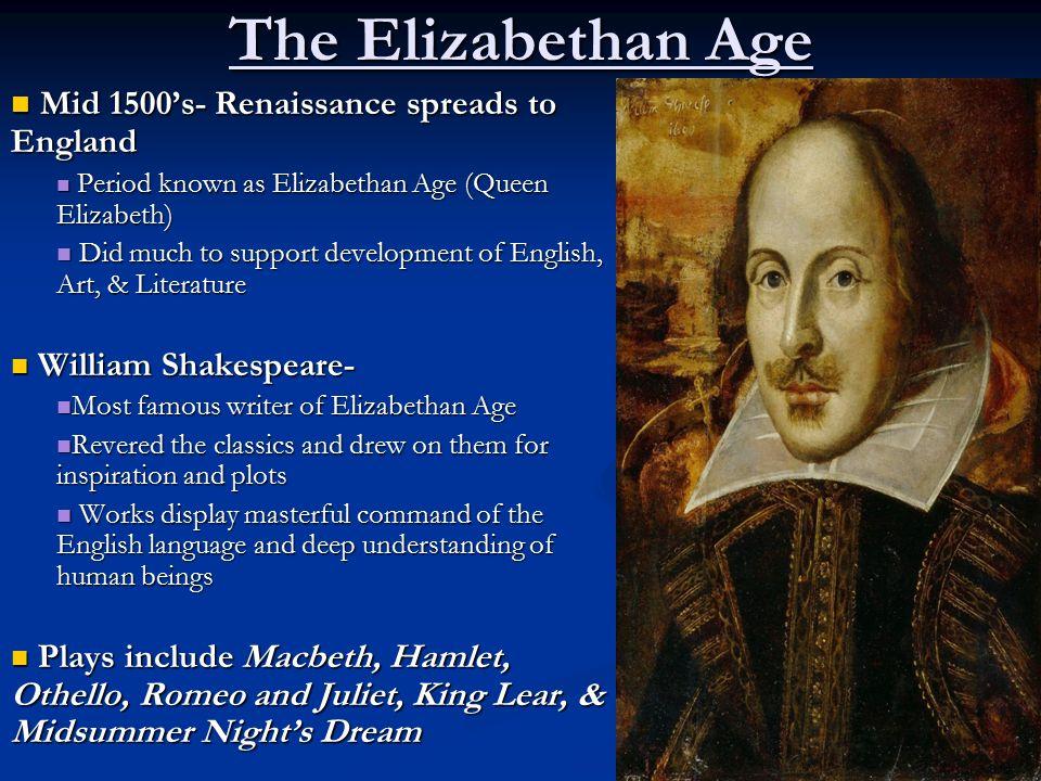 elizabethan period in english literature pdf