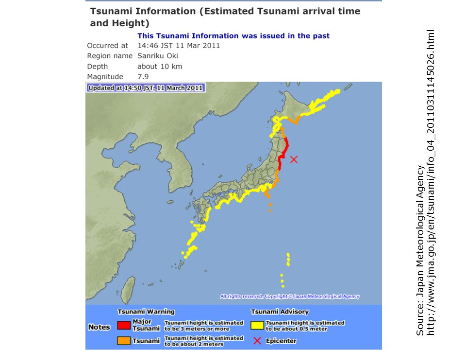 http://www.jma.go.jp/en/tsunami/info_04_20110311145026.html Source: Japan Meteorological Agency