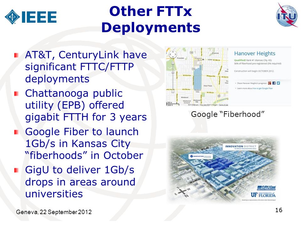 Other FTTx Deployments