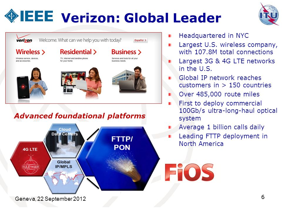 Verizon: Global Leader