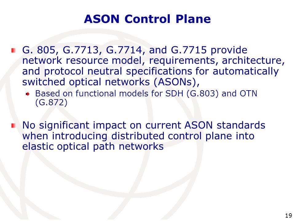ASON Control Plane