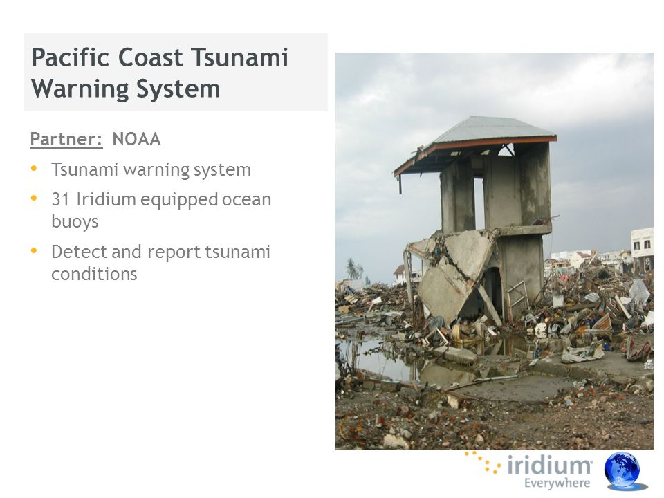 Pacific Coast Tsunami Warning System