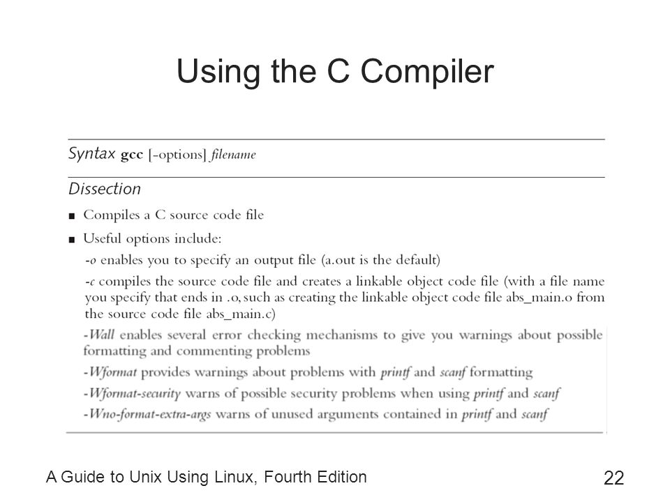 A Guide To Unix Using Linux Fourth Edition Ppt Download