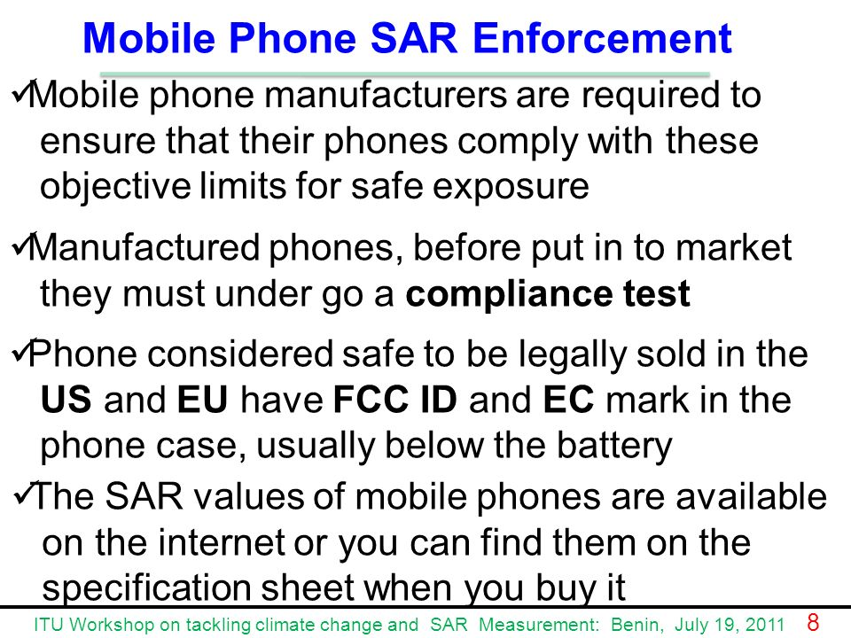 how to find sar value for mobiles