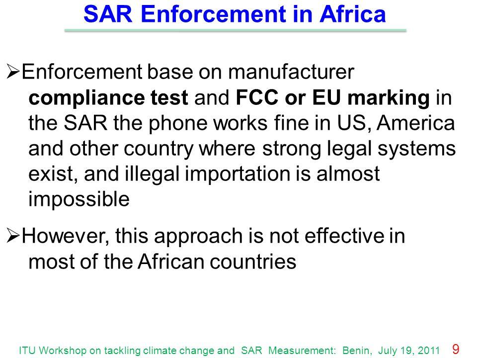 SAR Enforcement in Africa