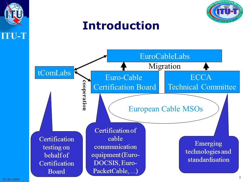 Introduction EuroCableLabs Migration tComLabs