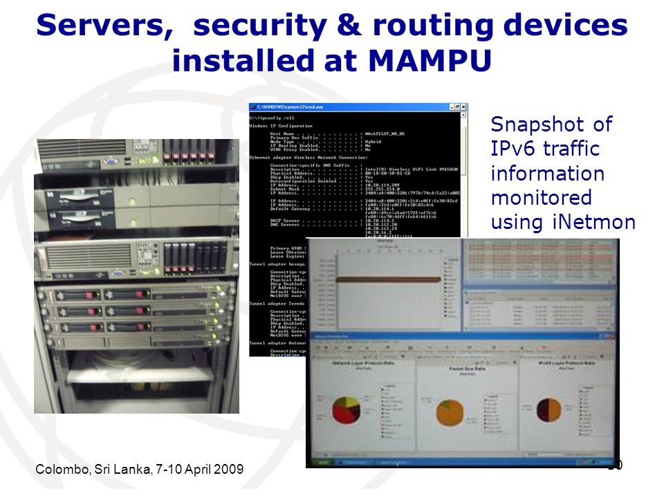 Servers, security & routing devices installed at MAMPU