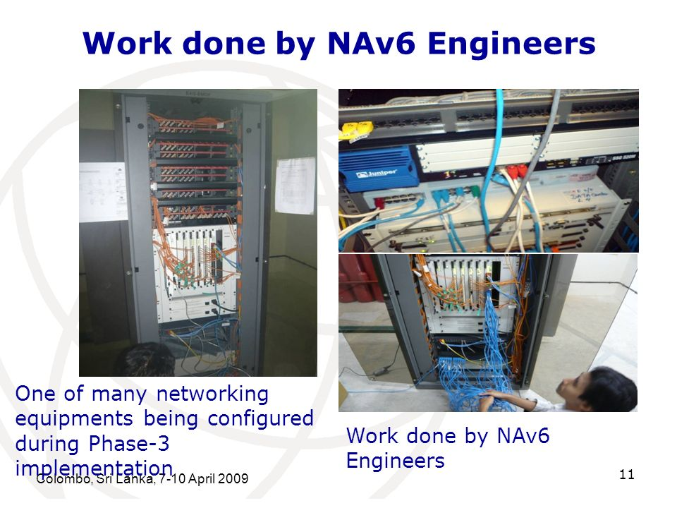 Work done by NAv6 Engineers