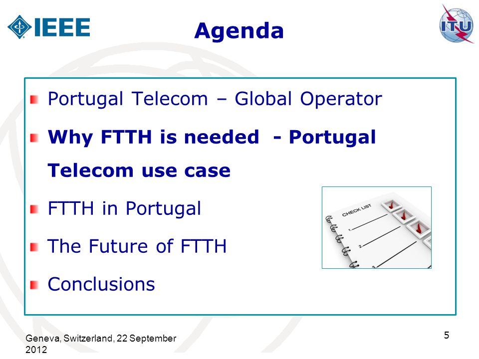 Agenda Portugal Telecom – Global Operator