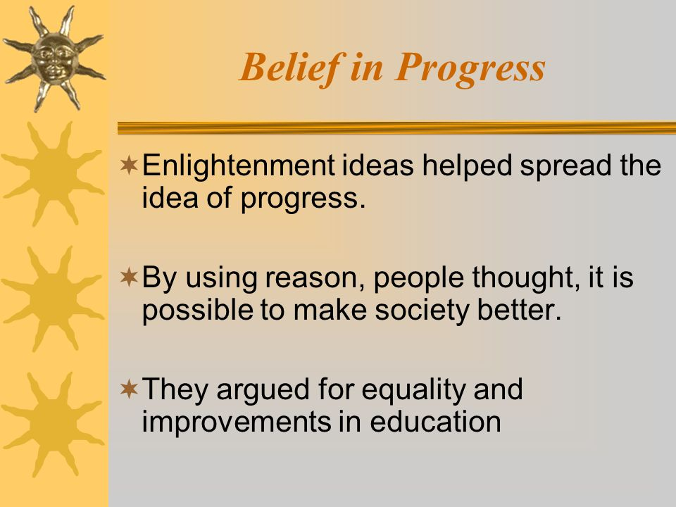 ideas of progress