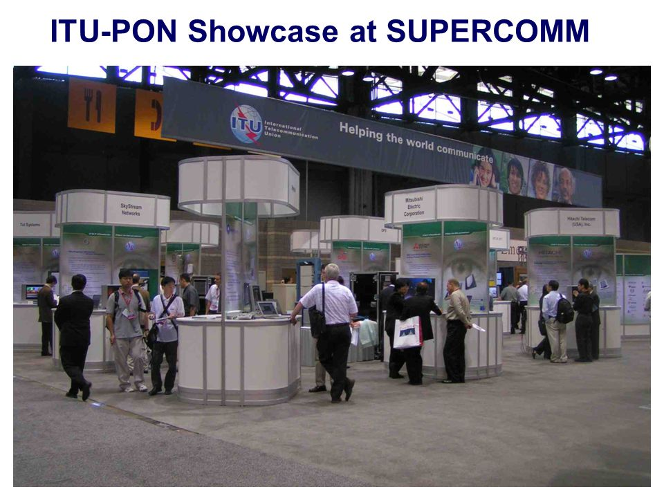 ITU-PON Showcase at SUPERCOMM