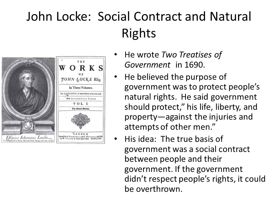 the influence of locke's social contract This essay has been submitted by a law student this is not an example of the work written by our professional essay writers the social contract theories of thomas hobbes and john locke.