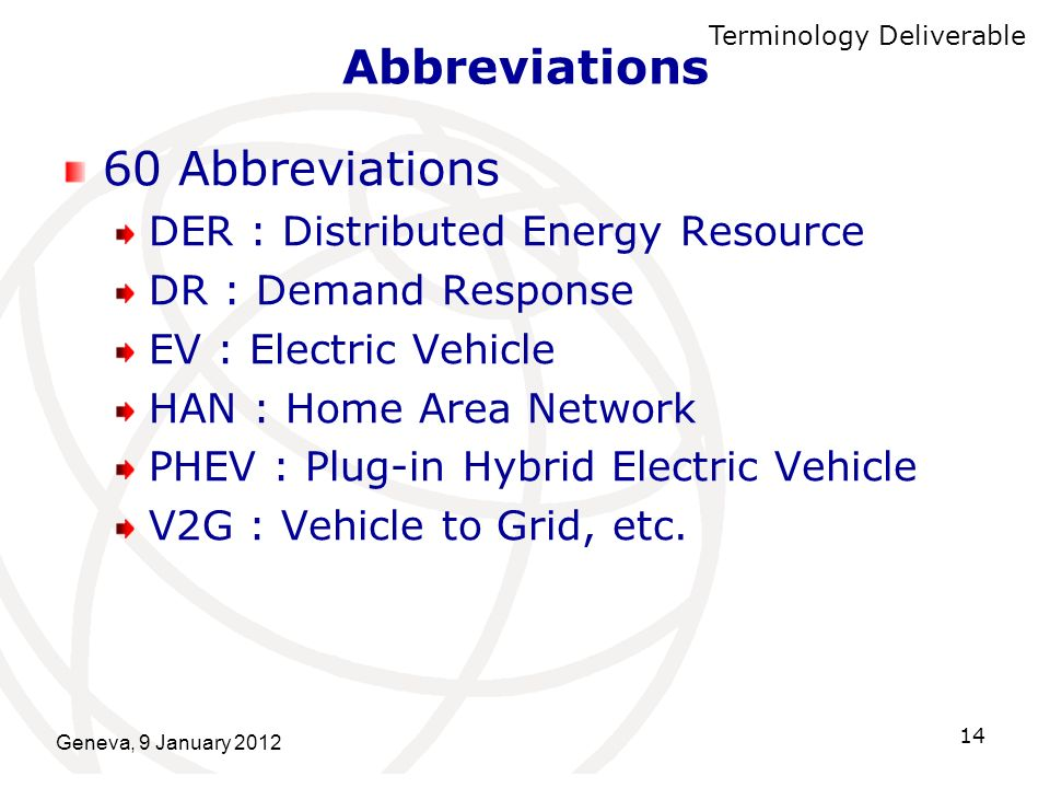 Abbreviations 60 Abbreviations DER : Distributed Energy Resource