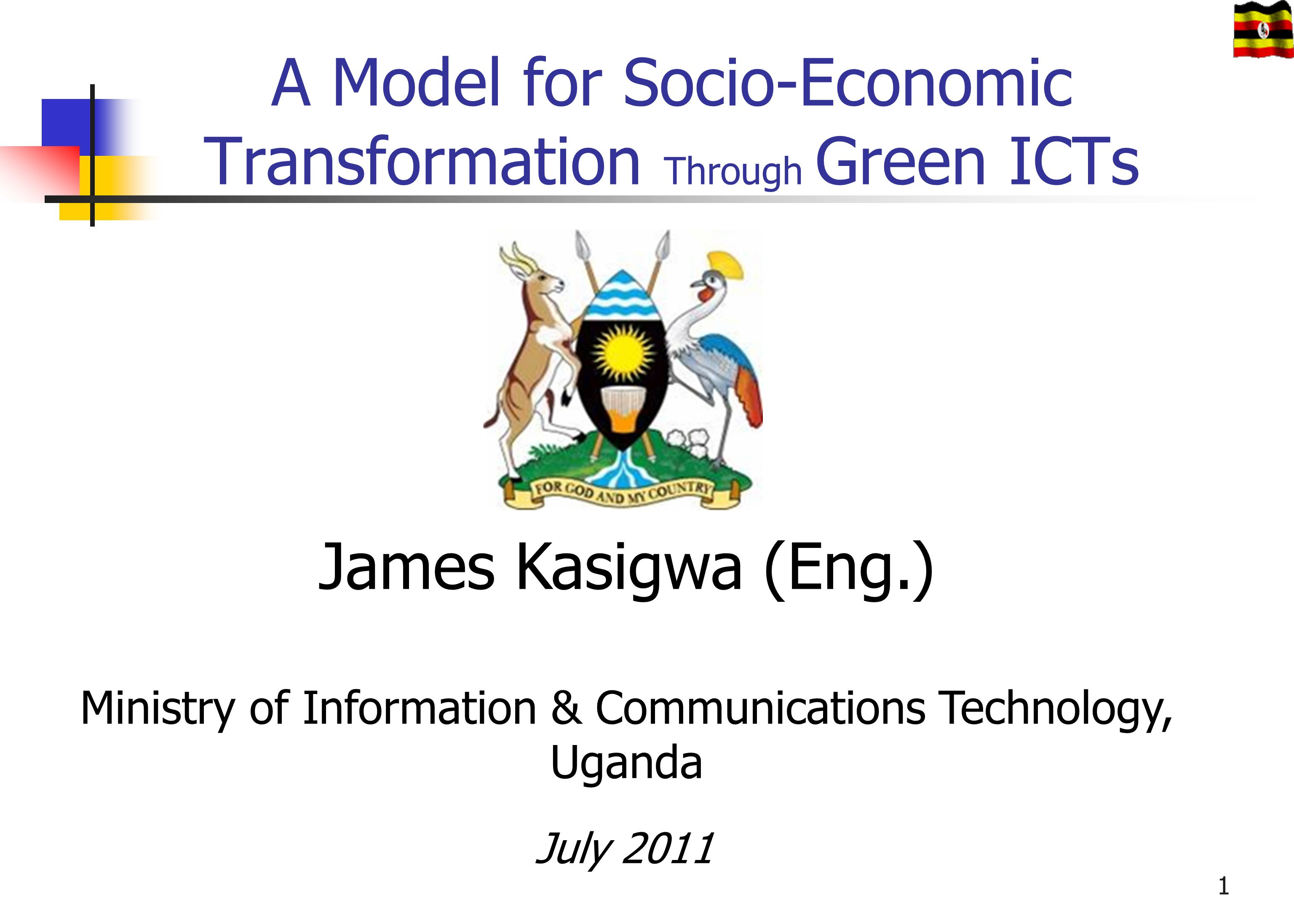A Model for Socio-Economic Transformation Through Green ICTs