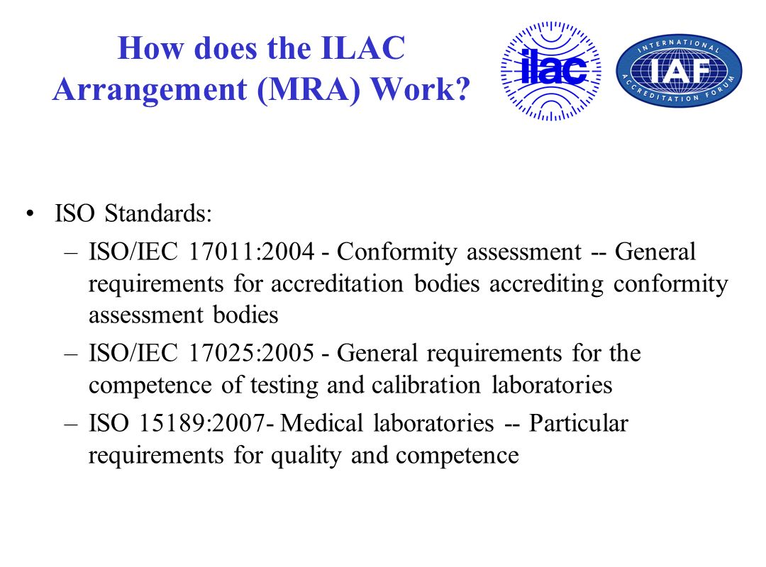 How does the ILAC Arrangement (MRA) Work