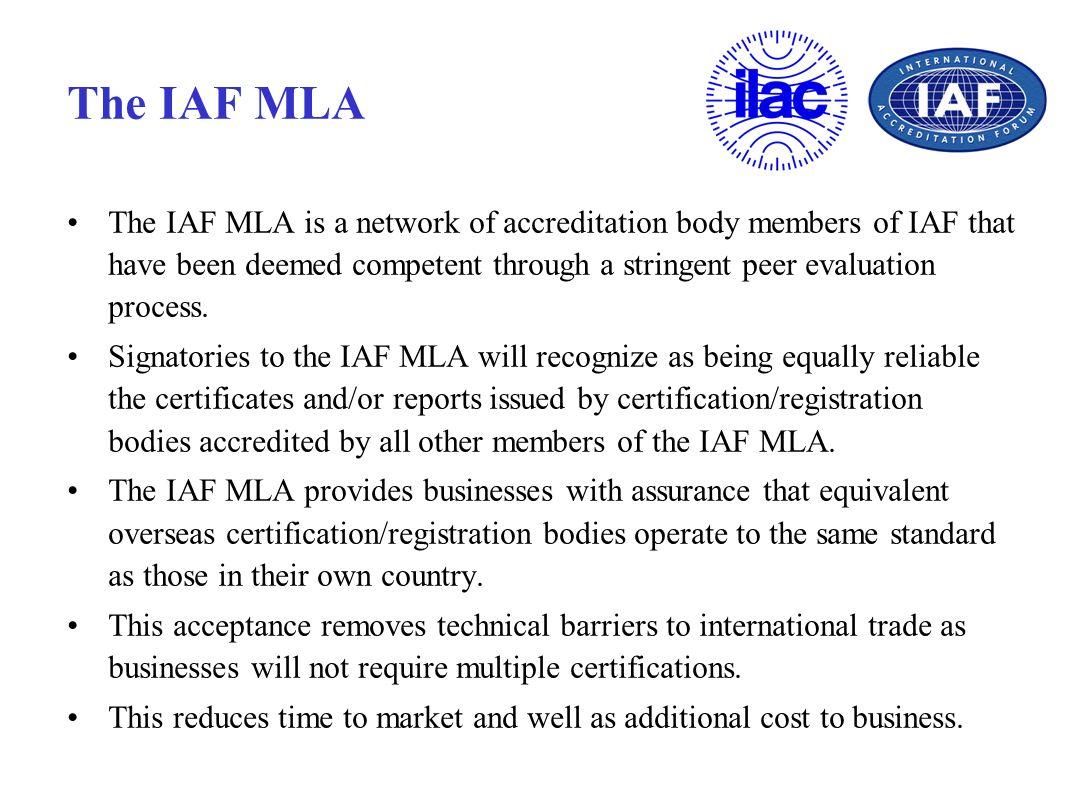 The IAF MLA