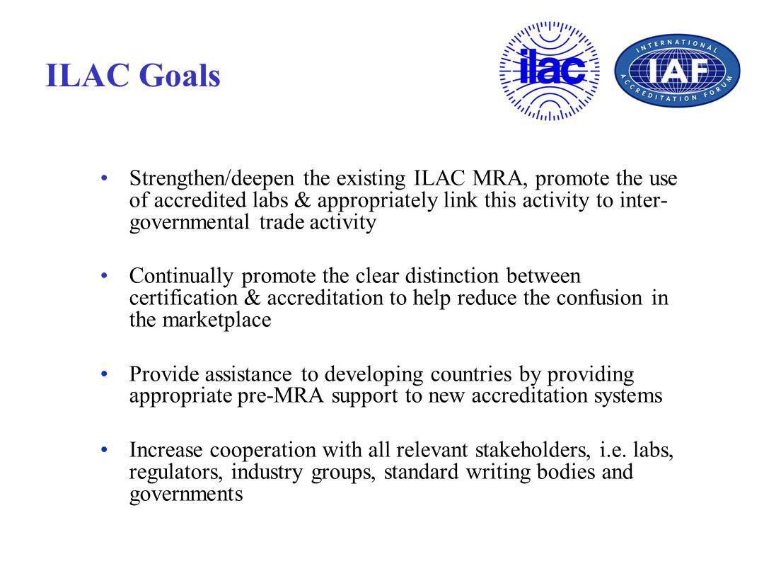 ILAC Goals