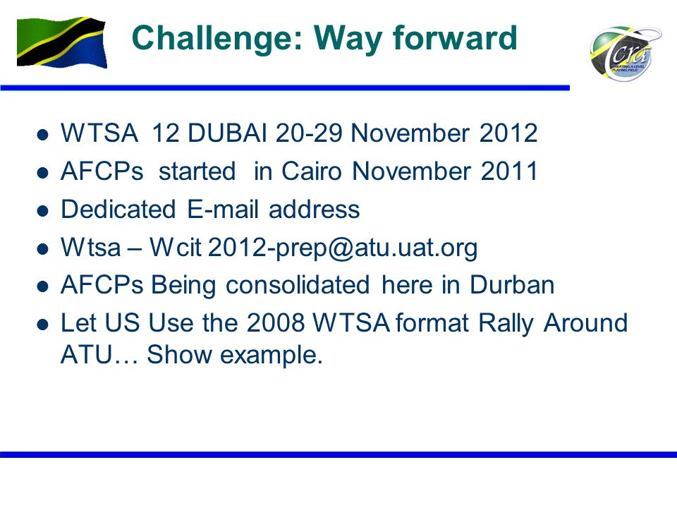 Challenge: Way forward