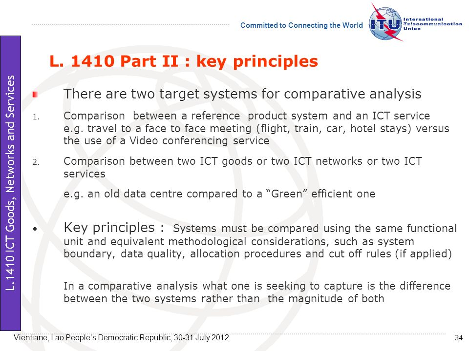 L. 1410 Part II : key principles