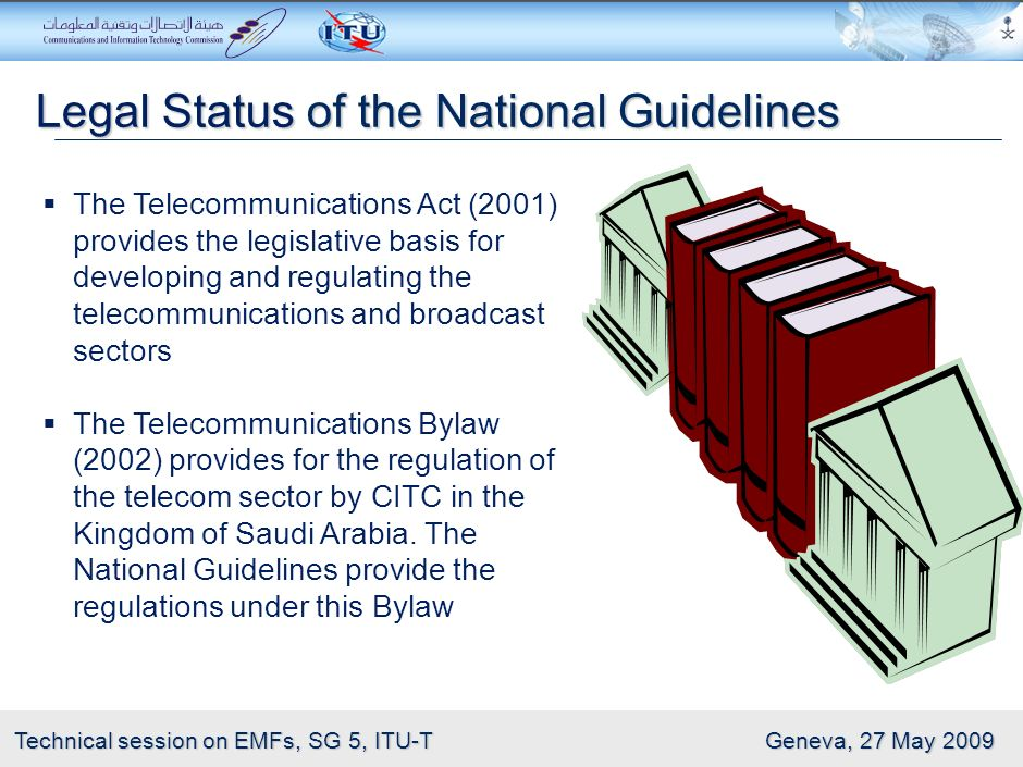 Legal Status of the National Guidelines