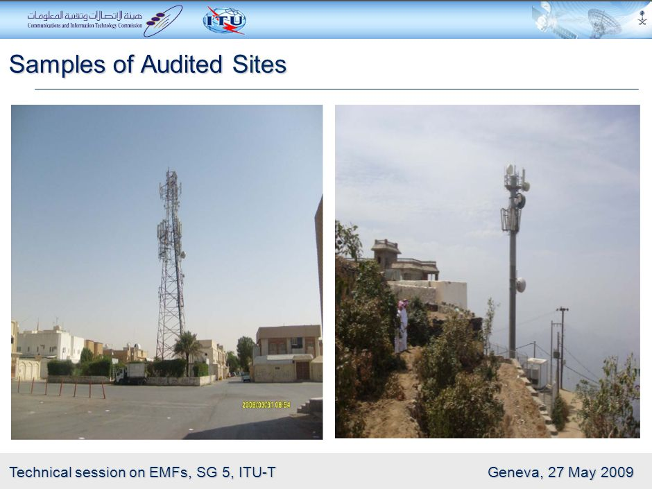 Samples of Audited Sites