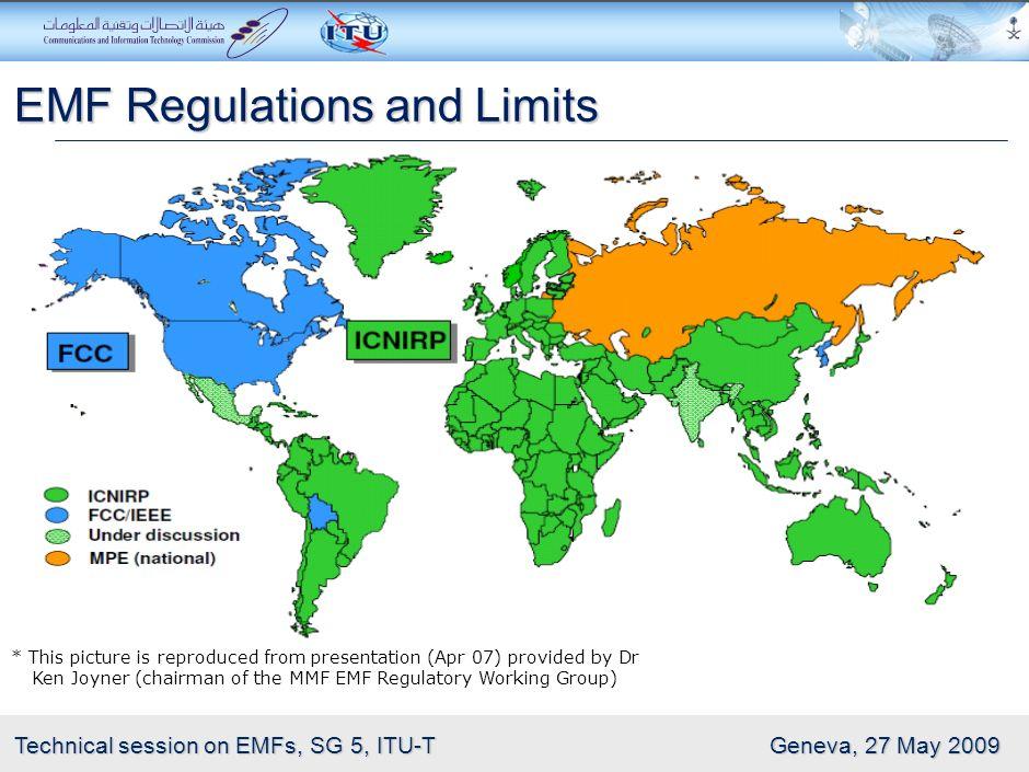 EMF Regulations and Limits