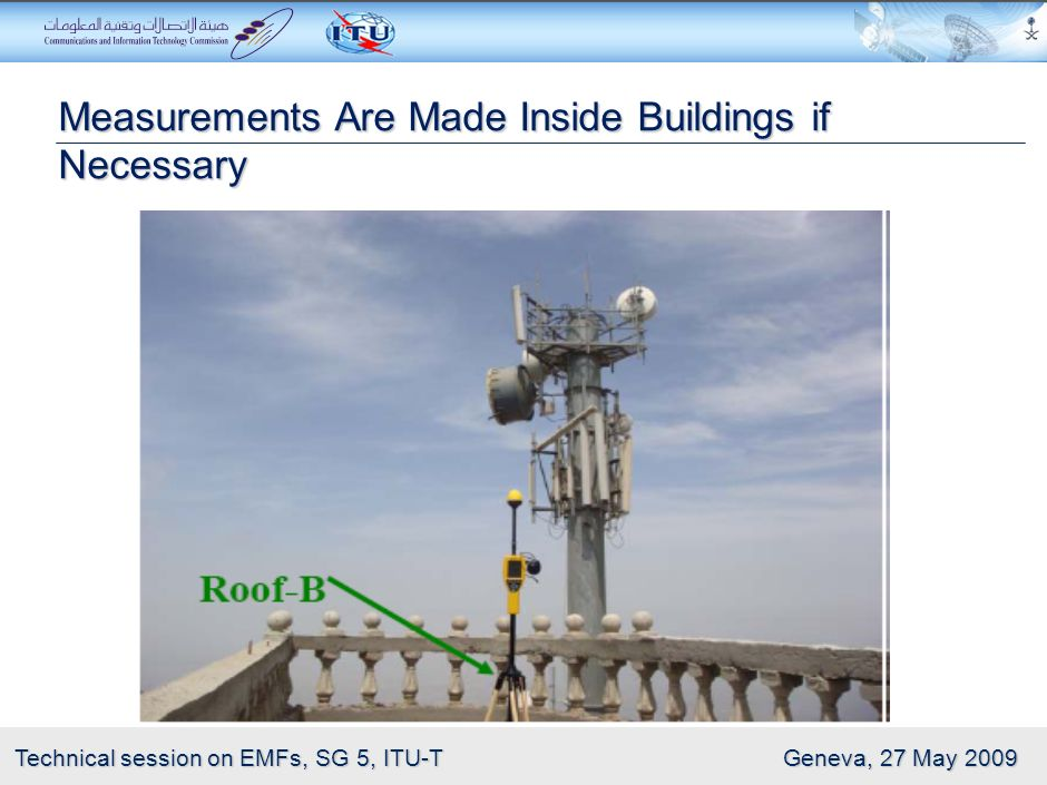 Measurements Are Made Inside Buildings if Necessary