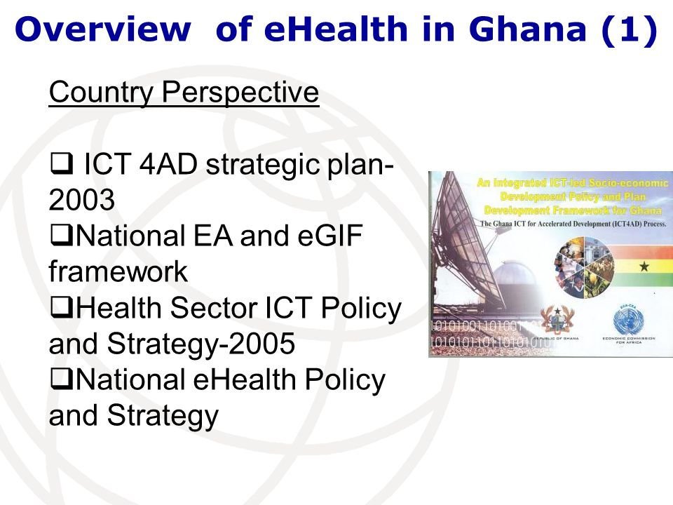 Overview of eHealth in Ghana (1)