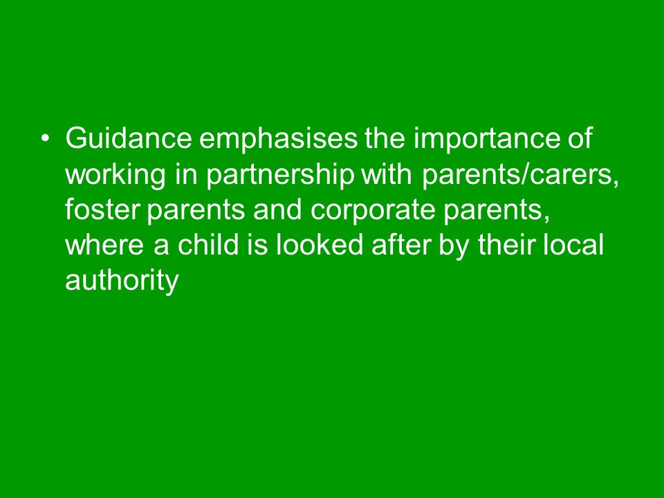 the importance of partnership with parents Engagement between schools and their communities is effective when school  leaders have vision and are committed to working in partnership with all parents.