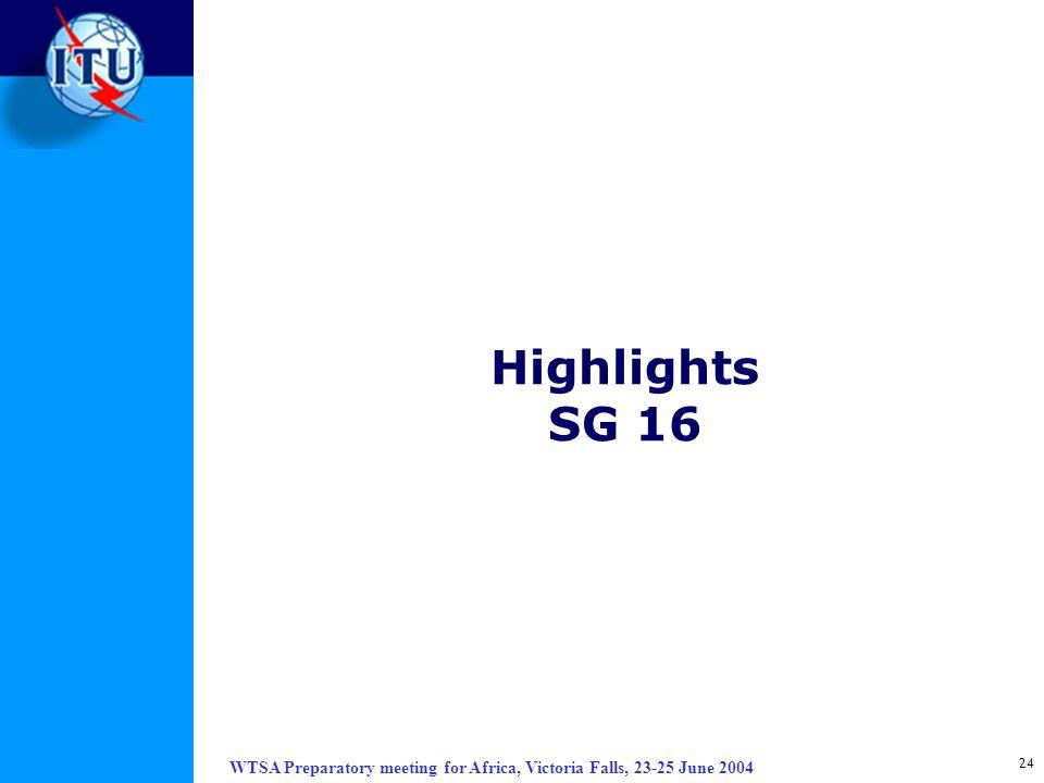 Highlights SG 16