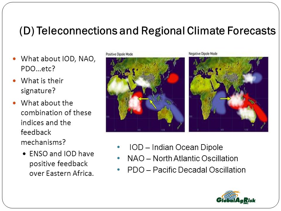 (D) Teleconnections and Regional Climate Forecasts