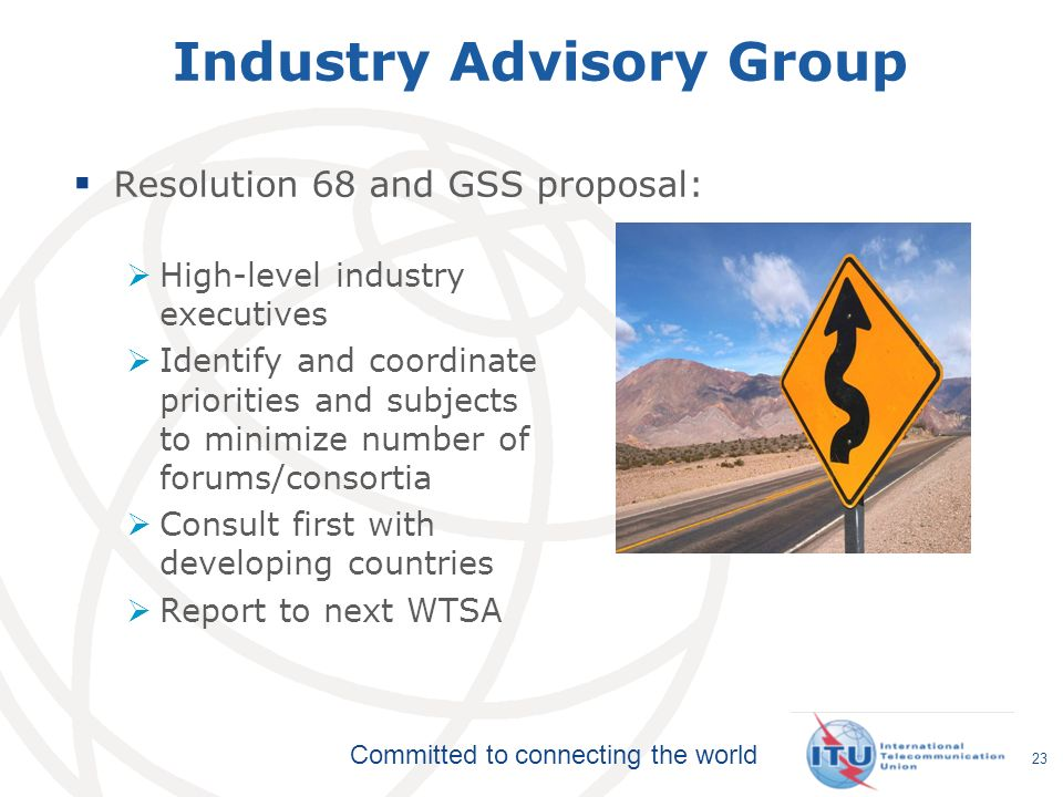 Industry Advisory Group