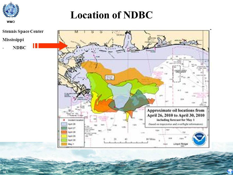 Location of NDBC Stennis Space Center Mississippi - NDBC