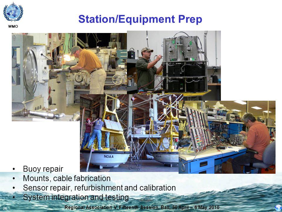 Station/Equipment Prep