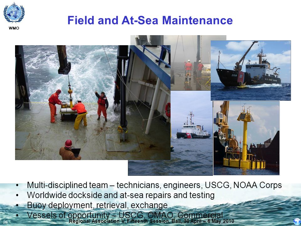 Field and At-Sea Maintenance