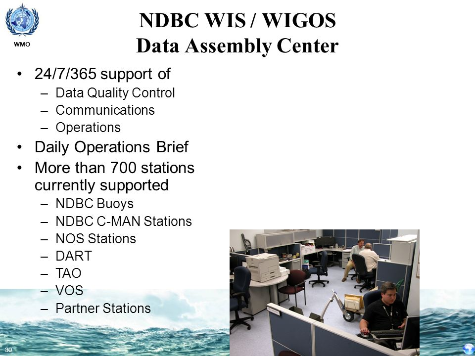 NDBC WIS / WIGOS Data Assembly Center