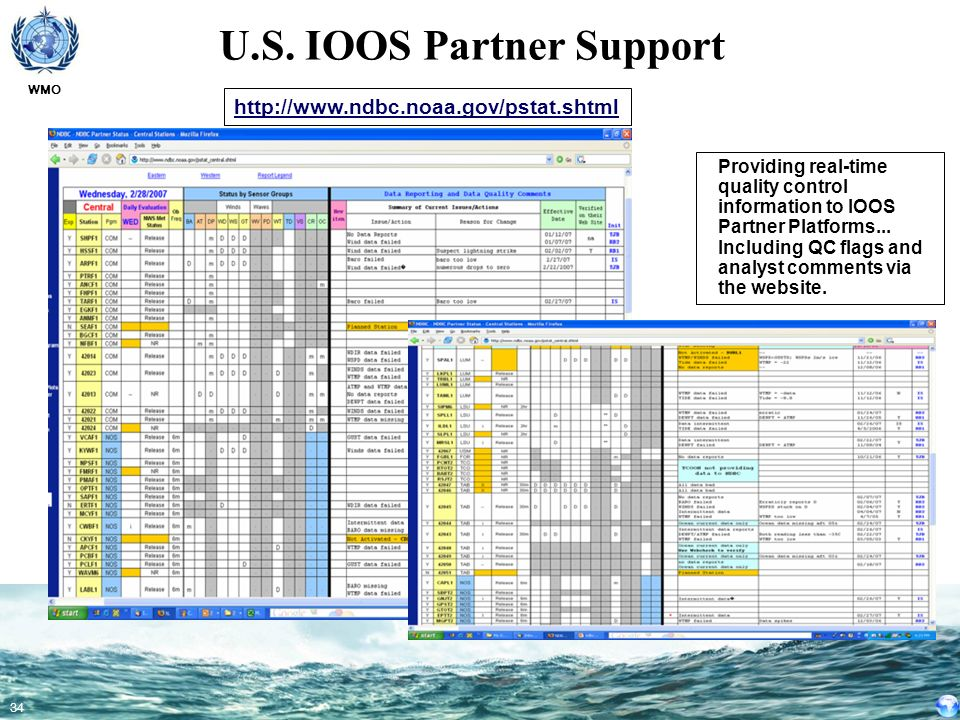 U.S. IOOS Partner Support