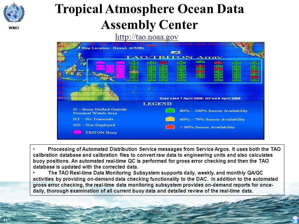 Tropical Atmosphere Ocean Data Assembly Center