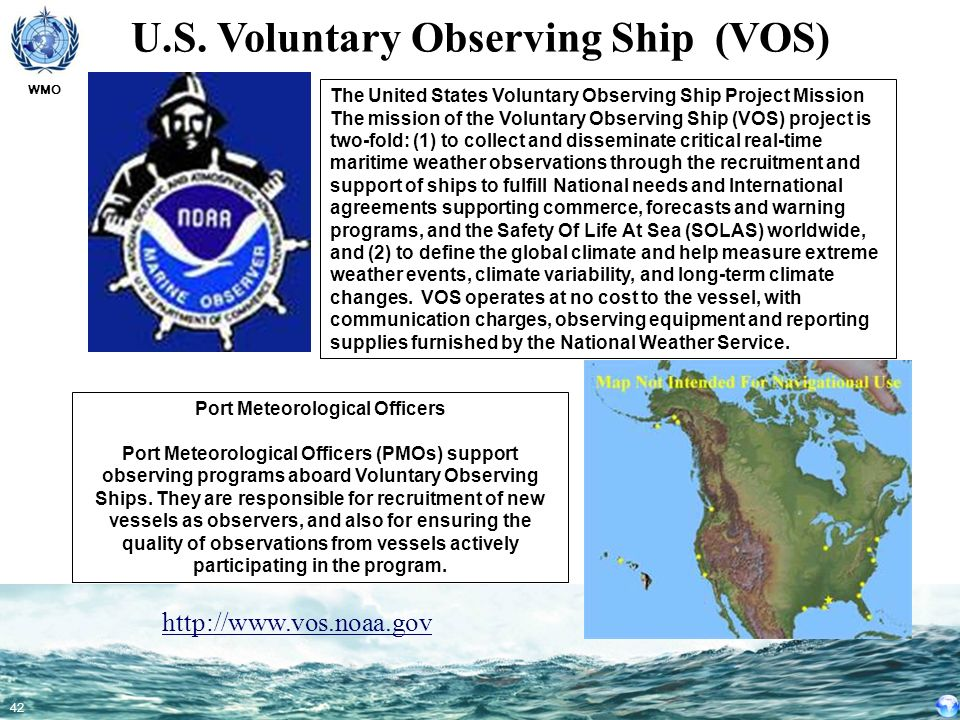 U.S. Voluntary Observing Ship (VOS) Port Meteorological Officers