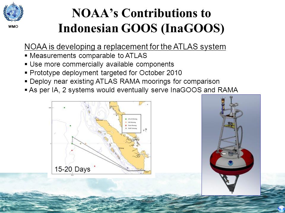 NOAA's Contributions to Indonesian GOOS (InaGOOS)
