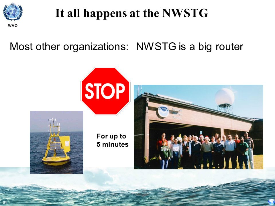 It all happens at the NWSTG