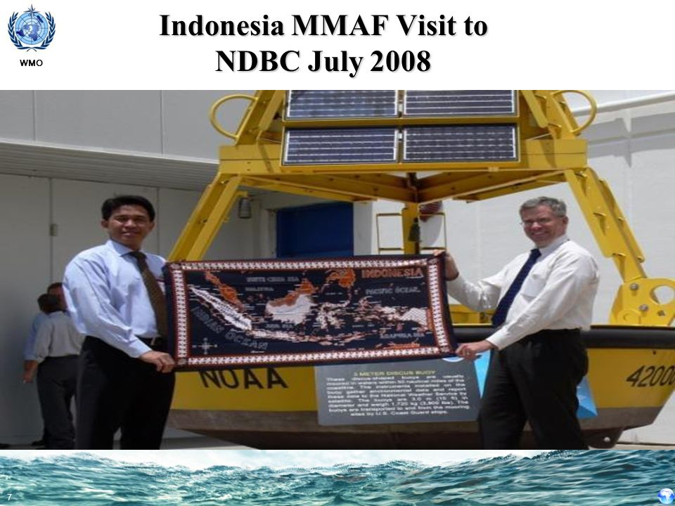 Indonesia MMAF Visit to NDBC July 2008