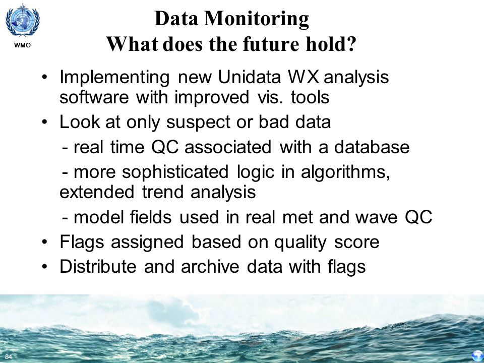 Data Monitoring What does the future hold