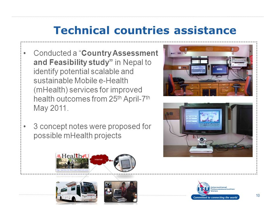 Technical countries assistance