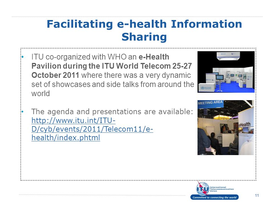 Facilitating e-health Information Sharing